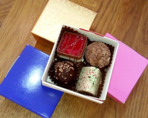 4 chocolate box