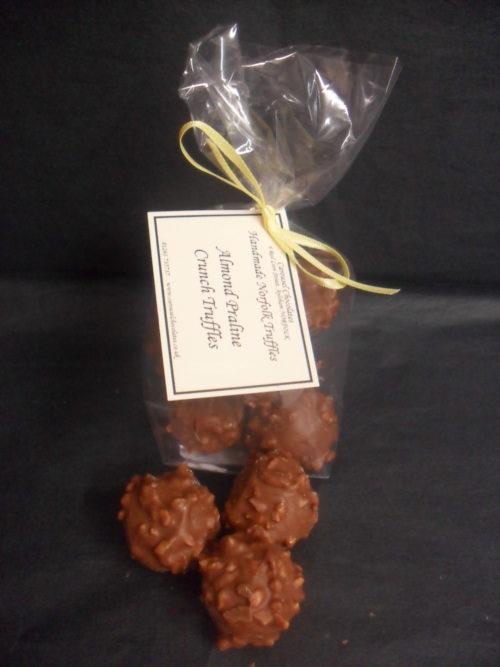 Almond Praline Crunch Norfolk Truffle