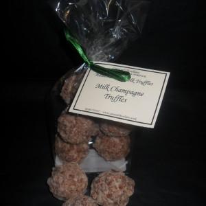 Milk champagne Norfolk truffles