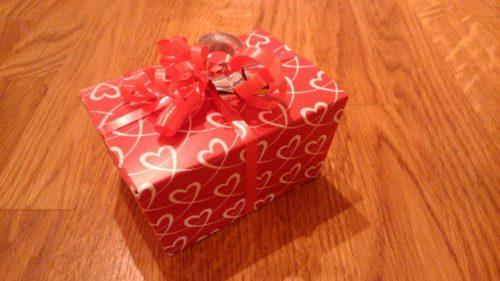 Valentine 6 chocolate box