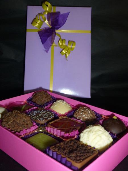 12 Chocolate selection box