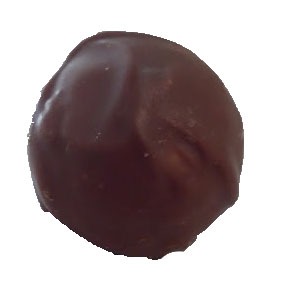 Coconut and Cherry Norfolk truffle