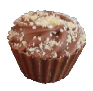 Millionaire's shortbread chocolate cupcake