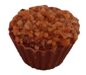 Nutty Surprise chocolate cupcake