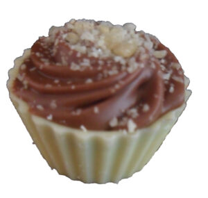 Popping Candy chocolate cupcake