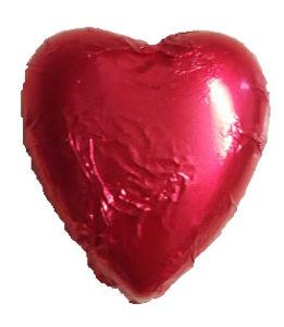 Scarlett Red heart