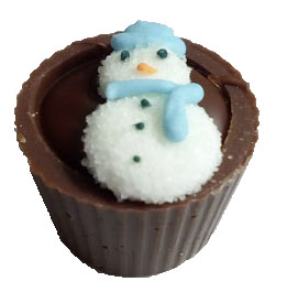 Xmas cup snowman