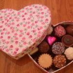 Floral Heart 15 Chocolate Box