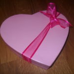 Pink heart 20 Chocolates