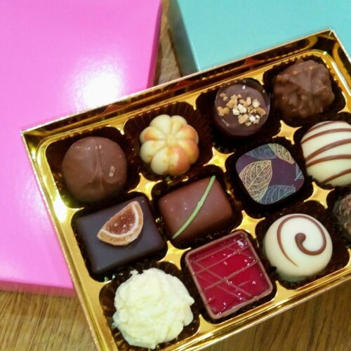 12 chocolate box