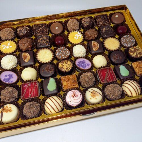 48 Luxury Chocolates & Norfolk Truffle selection box
