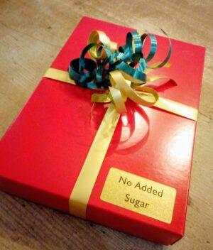 No added suagr chocolate selection box