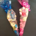 Chocolate party cone bags