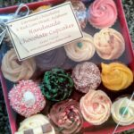 16 handmade chocolate cupcakes
