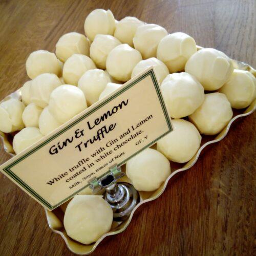 Gin and Lemon Norfolk truffle