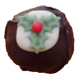 Christmas Pudding Truffle