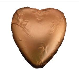 Gold Heart - ehite chocolate