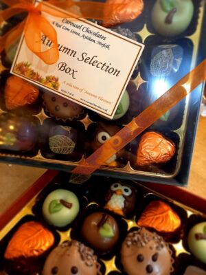 Autumn chocolate selection box
