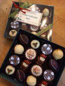 'Winter' chocolate selection box