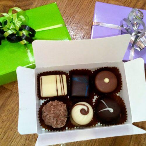 6 chocolate box