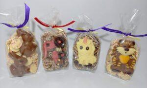 Chocolate jazzies and animal