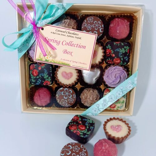 Spring Collection chocolate box