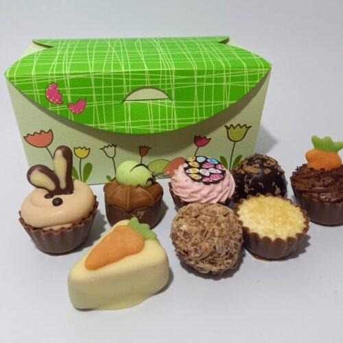 16 chocolate Easter ballotin box