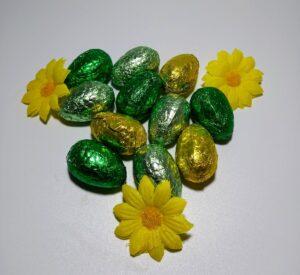 No added sugar praline Easter egg