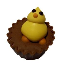 Duck Chocolate Cupcake