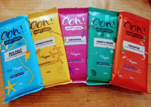 Ooh! Dairy Free chocolate bars