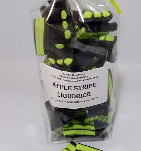 Apple stripe liquorice
