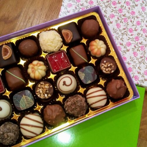 24 luxury chocolate & Norfolk Truffle select your own box